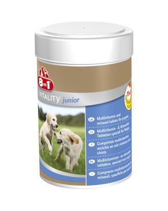 8in1 Vitality Multivitamin Junior 100szt. - preparat witaminowo-minerałowy dla szczeniąt