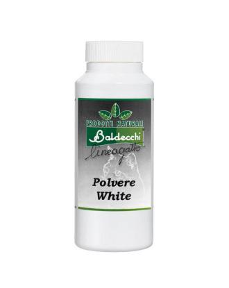 Baldecchi Cat White Powder 100g - puder wybielający dla kotów, maskujący przebarwienia