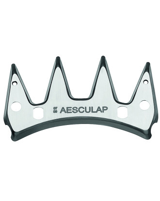 Aesculap GT578 Upper Cutter Plate for Sheep Clippers, 4 Teeth