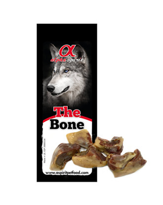 Alpha Spirit The Bone no.7- kęsy wieprzowe, z hiszpańskiej szynki Serrano