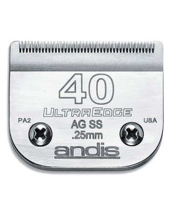 Andis UltraEdge No. 40SS - Detachable Surgical Blade 0,25mm