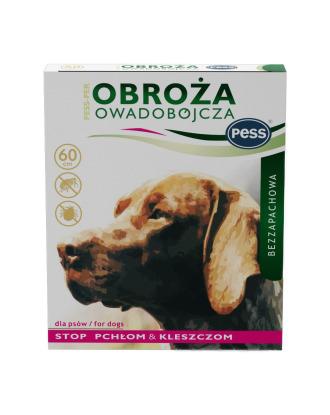 Pess-Perr 60cm - bezzapachowa obroża owadobójcza dla psów