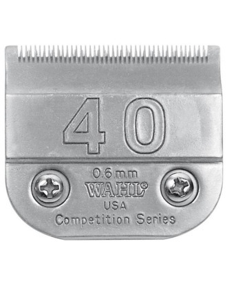 Wahl Competition no. 40 - Detachable Surgical Blade, Cutting Length 0,6mm