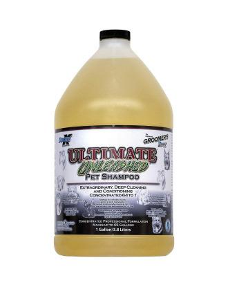 Double K Ultimate Unleashed 3,8L - głęboko oczyszczający szampon dla psów i kotów, koncentrat 1:64