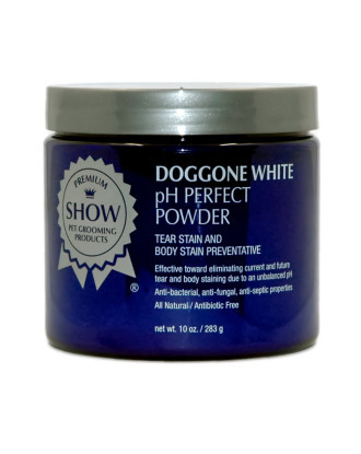 Show Premium DogGone White pH Perfect  Powder 283g - Stain and Discoloration Remover