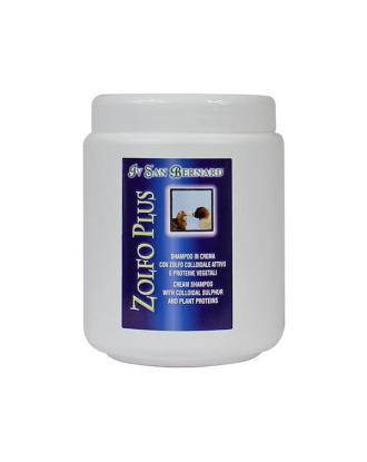 Iv San Bernard Zolfo Plus  - leczniczy szampon w kremie z siarką i proteinami, do usuwania łupieżu i łojotoku - Pojemność: 1L