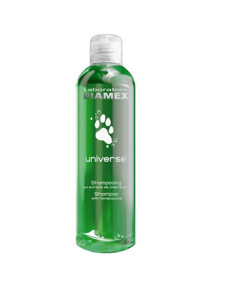 Diamex Universel Chevrefeuille - szampon z wiciokrzewem miodowym,  do krótkiej sierści,  koncentrat 1:8