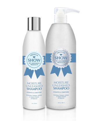 Show Premium Moisture Unleashed Shampoo - Hydrates & Conditions, 1:8 Concentrate