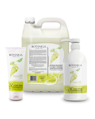 Botaniqa Show Line Intense Treatment Coat Mask - with Collagen & Keratin, 1:20 Concentrate