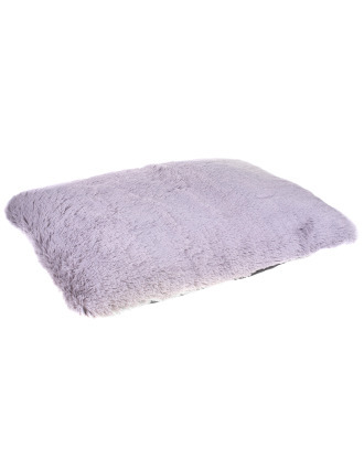 Blovi Bed Fluffy Pillow Gray - miękka poduszka dla psa i kota, materac, szara