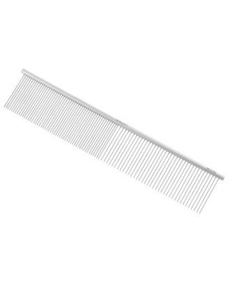 Madan Professional Carbon Comb 19cm - profesjonalny grzebień z mieszanym rozstawem ząbków, sześciokątnym uchwytem oraz karbonowymi pinami