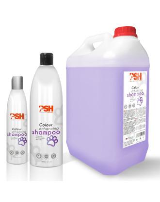 PSH Color Enhancing Shampoo - szampon intensyfikujący kolor i niwelujący  żółte przebarwienia dwu i trzykolorowej sierści, koncentrat 1:4