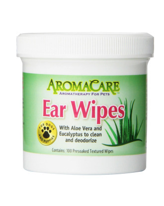 PPP Ear Wipes AromaCare 100szt - 100 Presoaked Textured Wipes