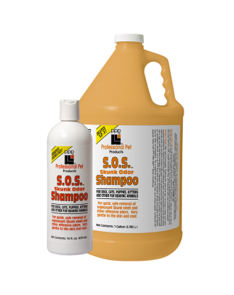 PPP Skunk Odor Shampoo - Strong Odor Removing, 1:12 Concentrate