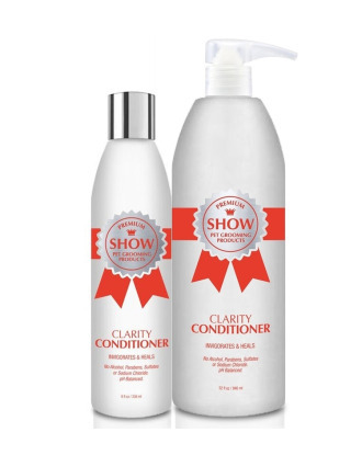 Show Premium Clarity Conditioner - Soothes & Moisturizes, 1: 8 Concentrate