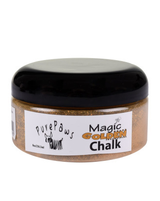 Pure Paws Magic Golden Chalk 236 ml - kreda do koloryzacji, złota