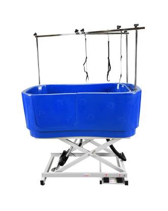 Blovi Professional Electric Lift Bath Tub, Blue