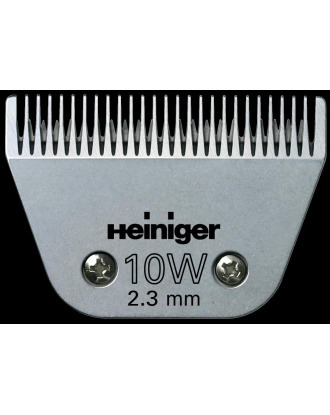 Heiniger Wide Blade no. 10W - Cutting Length 2,3mm, for Large Animals