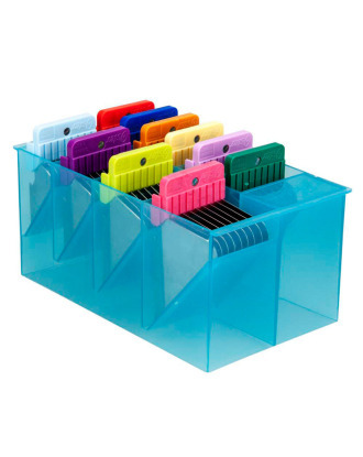 Oster -set of 10 stainless steel attachment combs with storage case