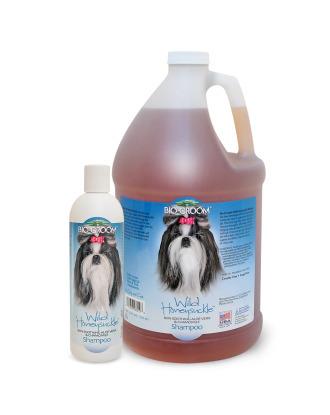 Bio-Groom Wild Honeysuckle - Skin Soothing and Moisturizing Aloe Vera & Chamomile Shampoo, 1:8 Concentrate