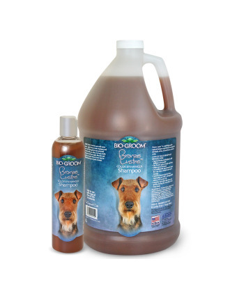 Bio-Groom Bronze Lustre - Color Enhanced Shampoo, 1:8 Concentrate