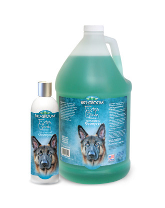 Bio-Groom Extra Body - Tearless Texturizing Double Coated Breed Shampoo, 1:4 Concentrate
