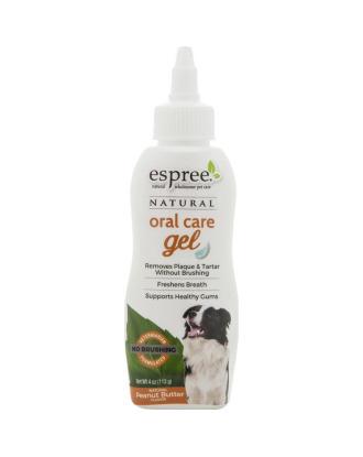 Espree Oral Care Gel Peanut Butter 113g - żel do czyszczenia zębów, dla psa, o aromacie masła orzechowego