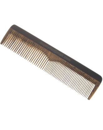 P&W Dog Stylist Comb 16 cm - pachnący, antystatyczny grzebień z drzewa sandałowego, mieszany rozstaw ząbków 50/50