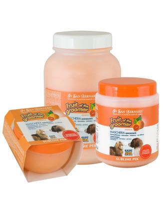 Iv San Bernard - regenerująca maseczka z pomarańczą i silikonem, do każdego typu szaty