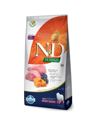 Farmina N&D Pumpkin Lamb & Blueberry Adult Maxi Giant 12kg - karma dla dorosłych psów bardzo dużych ras, z dynią, jagnięciną i borówkami