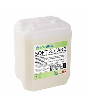 Eco Shine Soft&Care 5L -  delikatne mydło piankowe do mycia rąk