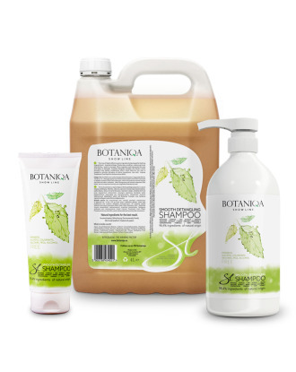 Botaniqa Show Line Smooth Detangling Shampoo - for Long & Semi-Long Haired Dogs, 1:15 Concentrate