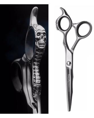"""Artero Mystery Straight Scissor 8"""" - ostre jak brzytwa, profesjonalne nożyczki z japońskiej stali, z ozdobną rękojeścią"""