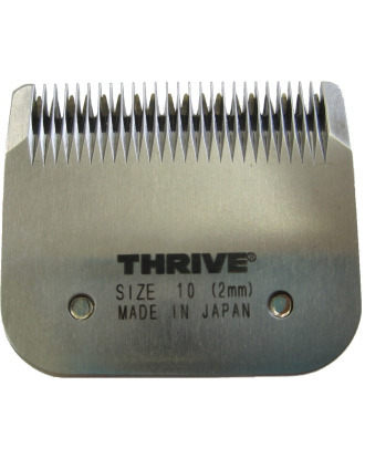 Thrive Professional Blade #10 - Snap-on Japanese Detachable Blade, Cutting Length 2mm, Medium Tooth Pattern