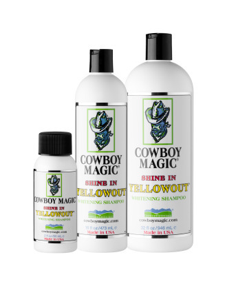 Cowboy Magic Shine In Yellowout - Brightening and Neutralizing Yellow Stains Shampoo