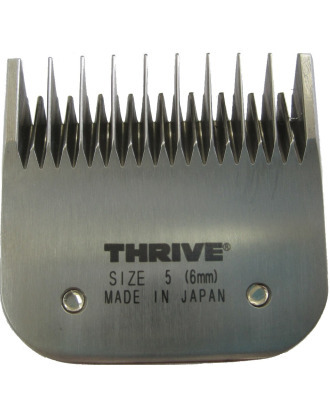Thrive Professional Blade #5 - Snap-on Japanese Detachable Skip Tooth Blade, Cutting Length 6mm