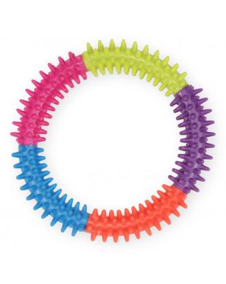 Pet Nowa Dental Ring 15cm - gryzak dla psów, z wypustkami masującymi dziąsła
