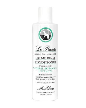 Les Poochs Le Creme Rinse Conditioner (męska) - luksusowa, delikatna odżywka dla ras długowłosych, koncentrat 1:4