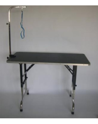 Adjustable Grooming Table with Arm 60x90cm
