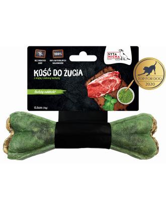 Syta Micha Kość do żucia 70g - przysmak dla psa z miętą i zieloną herbatą
