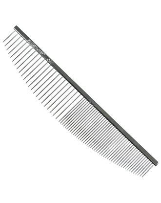 Chris Christensen Crescent Comb 16,5cm - profesjonalny grzebień z mieszanym rozstawem zębów, półksiężyc