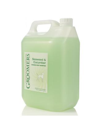 Groomers Seaweed&Cucumber Shampoo 5L - profesjonalny szampon dla psa z twardym i szorstkim włosem, koncentrat 1:7