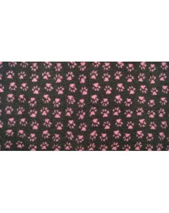 Blovi DryBed VetBed A - Non Slip Pet Bed, Graphite-Pink