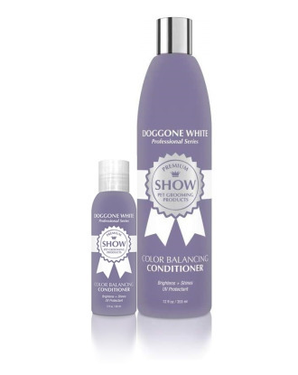 Show Premium DogGone White Color Balancing Conditioner - 1:8 Concentrate