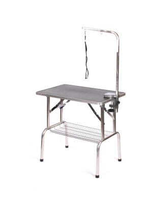 Blovi Grooming Table 95x55cm - With Pet Arm & Basket