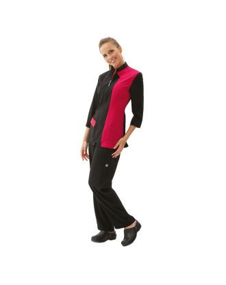 Artero Milla Fuchsia - wysokiej jakości, dwukolorowa bluza groomerska, fuksja