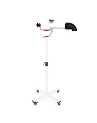 Shernbao Anionic Grooming Stand Dryer 115l / s / 1800W - Professional Stnad Dryer, with Ionization, Rotatable 360 °