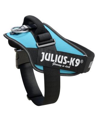 Julius-K9 IDC Powerharness Aquamarine - najwyższej jakości szelki, uprząż dla psów w kolorze turkusowym