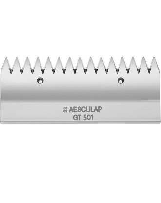 Aesculap GT501 - Upper Cutter Plate For Horse And Cattle Machines, 15 Teeth