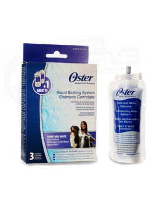 Oster Shine&White Shampoo Cartrige Set for Oster Rapid Bath System